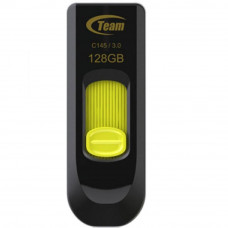 USB флеш накопитель Team 128GB C145 Yellow USB 3.0 (TC1453128GY01)
