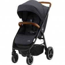 Коляска Britax-Romer B-AGILE R Black Shadow/Brown (2000032870) - Фото №1