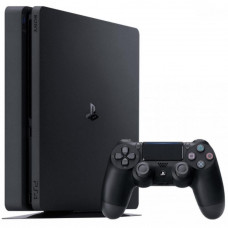 Ігрова консоль SONY PlayStation 4 Slim 500 Gb Black (HZD+GTS+UC4+PSPlus 3М) (9395270) 8 ГБ GDDR5, AM