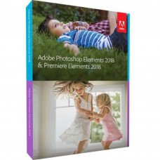 ПО для мультимедиа Adobe Photoshop & Premiere Elements 2018 Multiple Eng AOO Lic TLP (65281892AD01A0