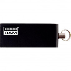 USB флеш накопитель GOODRAM 64GB UCU2 Cube Black USB 2.0 (UCU2-0640K0R11) - Фото №1