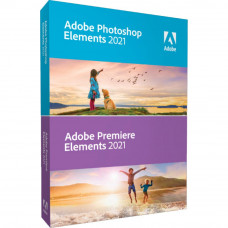 ПО для мультимедиа Adobe PHSP & PREM Elements 2021 Multiple Platforms International E (65313026AD01A00) - Фото №1