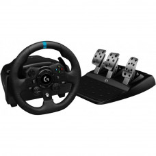 Руль Logitech G923 Racing Wheel and Pedals for PS4 and PC (941-000149) - Фото №1