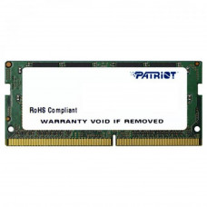 Модуль памяти для ноутбука SoDIMM DDR4 4GB 2400 MHz Patriot (PSD44G240081S) - Фото №1