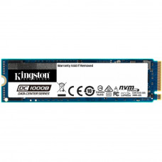 Жесткий диск для сервера 480GB M.2 2280 NVMe PCIe3x4 DC1000B Enterprise SSD Kingston (SEDC1000BM8/48 - Фото №1