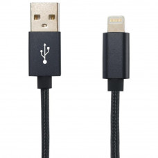 Дата кабель Gelius Metallic Edition USB 2.0 – Apple Lightning (iPhone 5) Black (36536)