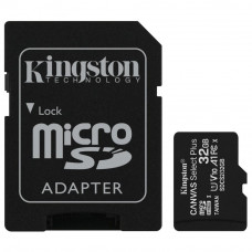 Карта памяти Kingston 32GB micSDHC class 10 Canvas Select Plus 100R A1 (SDCS2/32GB) - Фото №1