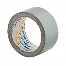 Скотч BUROMAX technical adhesive tapes 48мм x 10м х 240мкм, silver (BM.7575-24) - Фото №1