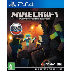 Гра SONY Minecraft. Playstation 4 Edition [PS4, Russian version] Blu- (9440611) PS4, Blu-ray диск
