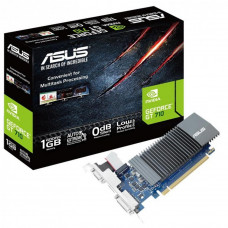 Видеокарта ASUS GeForce GT710 1024Mb Silent (GT710-SL-1GD5) - Фото №1