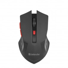 Мышка Defender Accura MM-275 Black-Red (52276) - Фото №1