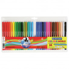 Фломастеры Centropen 7550/30 COLOUR WORLD, 30 colors (7550/30 ТП) - Фото №1