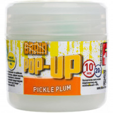 Бойл Brain fishing Pop-Up F1 Pickle Plum (слива с чесноком) 10 mm 20 gr (1858.02.39) - Фото №1