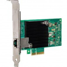 Сетевая карта INTEL PCIE 10GB SINGLE PORT (X550T1BLK 940125) - Фото №1