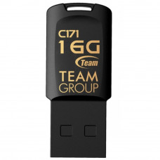 USB флеш накопитель Team 16GB C171 Black USB 2.0 (TC17116GB01) - Фото №1