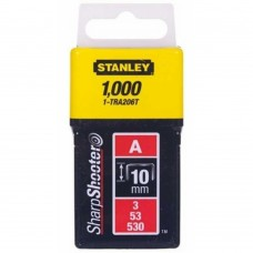 Скоби Stanley Light Duty тип а, 10мм, 1000шт (1-TRA206T)