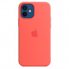 Чехол для моб. телефона Apple iPhone 12 mini Silicone Case with MagSafe - Pink Citrus (MHKP3ZM/A)