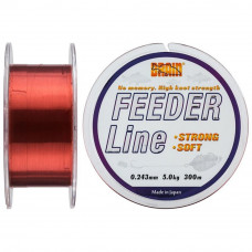 Леска Brain fishing Feeder 300 m 0,243 mm #2.25, 5.0 kg, 11.0 lb, ц.: copper (1858.70.04) - Фото №1
