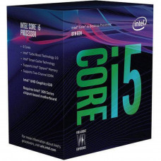 Процесор INTEL Core™ i5 8600K (BX80684I58600K) s1151, Supports Intel 300-Series Chipsets Only, 6 яде