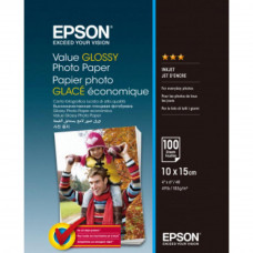 Бумага EPSON 10х15 Value Glossy Photo (C13S400039)