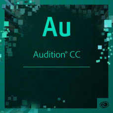 ПО для мультимедиа Adobe Adobe Audition CC teams Multiple/Multi Lang Lic Subs New 1Ye (65297746BA01A12) - Фото №1
