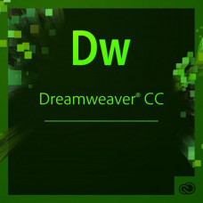 ПО для работы с WEB Adobe Dreamweaver CC teams Multiple/Multi Lang Lic Subs New 1Year (65297796BA01A