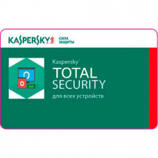 Антивирус Kaspersky Total Security Multi-Device 2 ПК 1 year Renewal License (KL1949XCBFR) - Фото №1