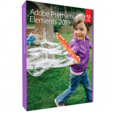 ПО для мультимедиа Adobe Premiere Elements 2019 2019 Multiple English AOO License TLP (65292657AD01A - Фото №1