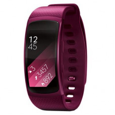 Фітнес браслет Samsung SM-R360 (Gear Fit2) Pink (SM-R3600ZIASEK) Android 4.3, Super AMOLED, GPS, акс - Фото №1