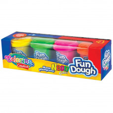 Набор для творчества Colorino Fun Dough, 4 неоновых цвета (34319PTR) - Фото №1