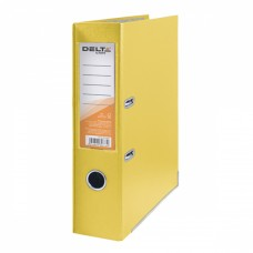 Папка - регистратор Delta by Axent PP 7,5 cм, assembled, yellow (D1714-08C) - Фото №1