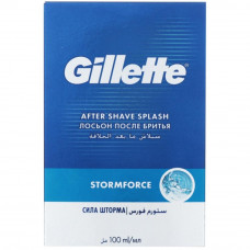 Лосьон после бритья Gillette Stormforce 100мл (7702018501205) - Фото №1