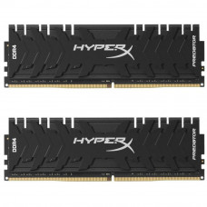 Модуль памяти для компьютера DDR4 16GB (2x8GB) 3200 MHz HyperX Predator Black Kingston (HX432C16PB3K