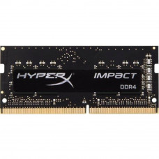 Модуль памяти для ноутбука SoDIMM DDR4 4GB 2400 MHz HyperX Impact Kingston (HX424S14IB/4) - Фото №1
