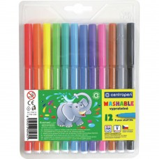 Фломастеры Centropen 7790/12 Washable, 12 colors (7790/12 ТП) - Фото №1