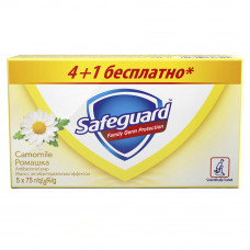 Мыло Safeguard Ромашка 5x75 г (5013965608544)