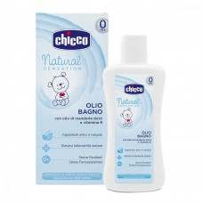 Масло Chicco Natural Sensation для ванны 200 мл (07451.10)