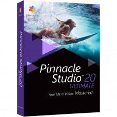 ПО для мультимедиа Corel Pinnacle Studio 20 Ultimate ML RU/EN for Windows (PNST20ULMLEU) - Фото №1