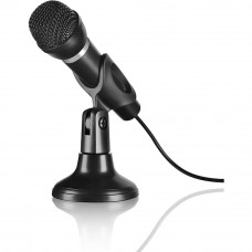 Микрофон Speedlink CAPO Desk and Hand Microphone Black (SL-8703-BK) - Фото №1