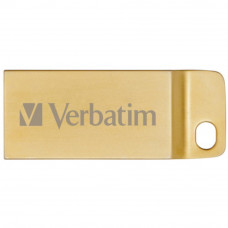 USB флеш накопитель Verbatim 32GB Metal Executive Gold USB 3.0 (99105) - Фото №1