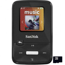 Flash плеер MP3 4GB SanDisk Sansa Clip Zip (SDMX22-004G-E46K) Black экран: LCD, 1.1