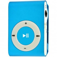 mp3 плеєр TOTO Without display&Earphone Mp3 Blue (TPS-03-Blue) Немає, немає, немає, немає, слот micr