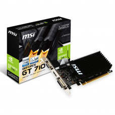 Видеокарта GeForce GT710 1024Mb MSI (GT 710 1GD3H LP) - Фото №1