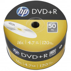 Диск DVD HP DVD+R 4.7GB 16X 50шт (69305) - Фото №1