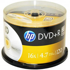 Диск DVD HP DVD+R 4.7GB 16X 50шт Spindle (69319) - Фото №1