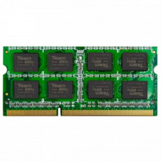 Модуль памяти для ноутбука SoDIMM DDR3 8GB 1600 MHz Team (TED38G1600C11-S01) - Фото №1