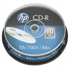 Диск CD HP CD-R 700MB 52X 25шт Spindle (69311/CRE00015-3) - Фото №1