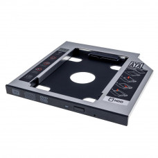 Фрейм-переходник Grand-X HDD 2,5'' SATA2/SATA3 Slim 9,5mm (HDC-24С) - Фото №1