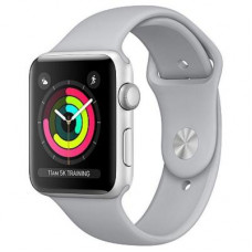 Смарт-годинник Apple Series 3 GPS, 38mm Silver Aluminium Case with Fog Sport Band (MQKU2FS/A) 1.5',
