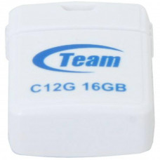 USB флеш накопитель Team 16GB C12G White USB 2.0 (TC12G16GW01) - Фото №1